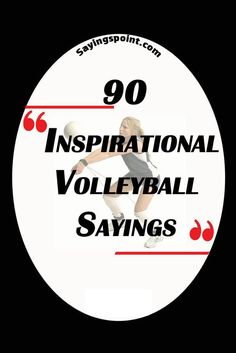 Volleyball Sayings #sayings #quotes #volleyball