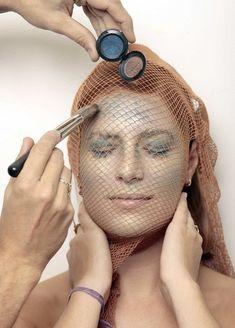 Halloween makeup: Sea Creature - LA Times