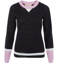 Roksanda IIincic Black Knit Jumper | Womenswear | Liberty.co.uk