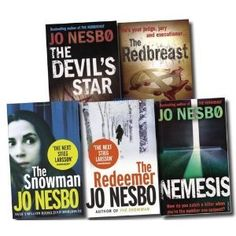 Read all the Jo Nesbo - Harry Hole series 1 after the other. As a crime obsessive (true or fiction), I have loved them all, even though they seemed to get more and more gruesome.    Martin Scorcese directing the Snowman apparently. Who could be Harry? I can't wait.