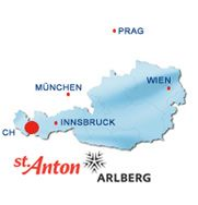 Panoramic Photo - Winter in St. Anton am Arlberg Innsbruck, Anton, Awesome Things, Travel Posters, Austria, Ski, Saints, Spaces, Vacation