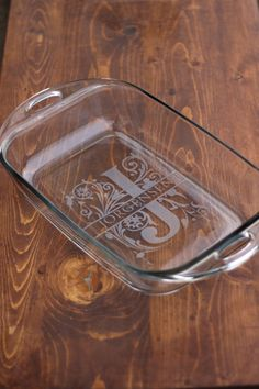 DIY Glass Etching Monogram And Name Silhouette Projects