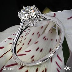 Felicity Solitaire Engagement Ring by Vatche with a 1.101ct A CUT ABOVE