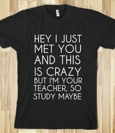 Study Maybe Tshirt