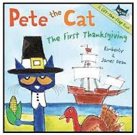 "Pete The Cat's First Thanksgiving Puzzle Game   Do you read ""Pete the Cat's First Thanksgiving?"" Since my students are quite bananas over Pete it's part of our collection of favorite November stories. With that in mind I designed some activities to transition to after we read the book.  This Thanksgiving-themed Pete the Cat number puzzle comes in black & white so that students can make their own as well as one in color to use as an independent math center.  Students can simply color cut and…"