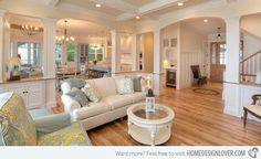 15 Close to Perfect Traditional Open Living Room Ideas   Home Design Lover