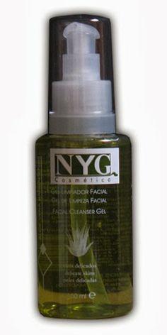 Gel Limpiador facial con Aloe de NYG Cosmetica
