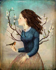 'your soul is like a tree' von Christian  Schloe bei artflakes.com als Poster oder Kunstdruck $20.79