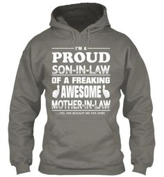 1 PROUD SON-IN-LAW OF MOTHER