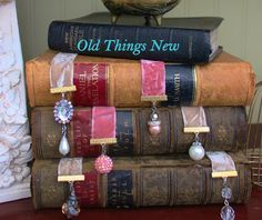 Old Things New: Vintage Jewelry Bookmarks