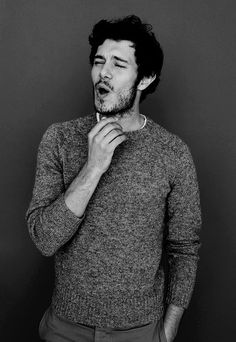 What's that #AdamBrody? I can't hear you over your #FacialHair.