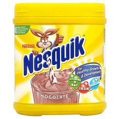 Nestle Nesquik Strawberry Pack of 6 -- More info could be found at the image url. (This is an affiliate link) Chocolate Candy Brands, Gourmet Recipes, Snack Recipes, Nesquick, Snickers Ice Cream, Unicorn Foods, Food Wishes, Banana Milkshake, Makeup Products