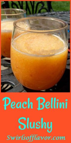 Moscow mule recipe Peach Bellini Slushy Say hello to the year of the wine slushy! Frozen peaches, Peach Schnapps and Prosecco whirl up into a fabulously delicious Peach Bellini Slushy! Summer Drinks, Cocktail Drinks, Fun Drinks, Alcoholic Drinks, Slushy Alcohol Drinks, Mixed Drinks, Sweet Cocktails, Party Drinks, Booze Drink