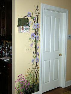 Outra boa ideia para encantar o hall de entrada do apartamento ou de uma sala.Adorei!Parabéns ao criador!