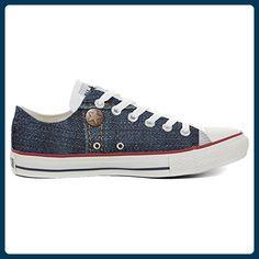 2dba315c961 Converse All Star Hi Customized personalisierte Schuhe (Handwerk Schuhe)  Orange Skull size 46 EU