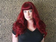 Did @xoVain find the elusive red hair you've been seeking? She used Runway Red from Vidal Sassoon.
