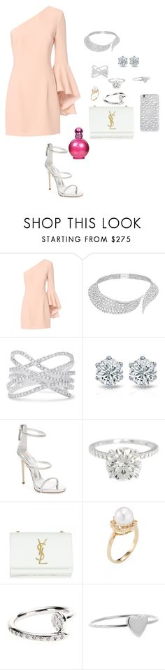 """""""Silver lady"""" by jvany26 ❤ liked on Polyvore featuring beauty, Exclusive for Intermix, Messika, Effy Jewelry, Giuseppe Zanotti, Yves Saint Laurent, Belpearl, Roberto Marroni, Jennifer Meyer Jewelry and Felony Case"""