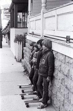 Old School Skateboard pictures