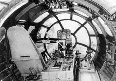 Cockpit of the Me-264 Amerika bomber