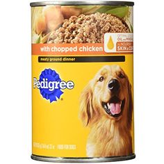 Pedigree Brand Choice Cuts Dog Food 22 Oz (Pack of 12) - You can see this great product. (This is an affiliate link and I receive a commission for the sales)