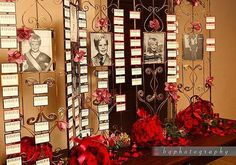 escort card table