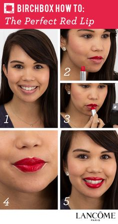 Birchbox + Lancôme Pin to Win Giveaway: The Perfect Red Lip  @birchbox @Lancome USA