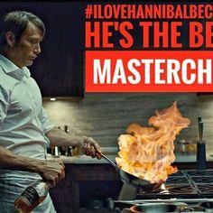 He's the best masterchef 😍