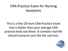 Cna Exam Tip Take Help From Those Who Have Cleared The Exam They