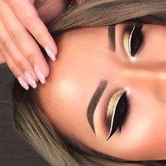 Nyx cosmetics white liquid liner #makeup #ad #nyx #beauty