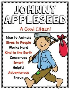 1000 ideas about johnny appleseed on pinterest apple unit apple activities and first grade. Black Bedroom Furniture Sets. Home Design Ideas