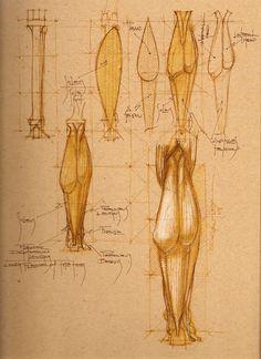 Michael Mentler: The Bone Doctor screenshot Leg Anatomy, Anatomy Poses, Anatomy Art, Figure Drawing Tutorial, Figure Drawing Reference, Anatomy Reference, Human Anatomy Drawing, Body Drawing, Life Drawing