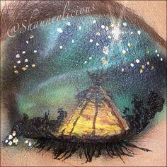 Fantasy makeup #fantasy #makeup #art #eyeart #eyeshadow