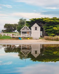 """""""You are a mirror of yourself in others. Whatever you want give. Be the best reflection of yourself."""" - Karen A. Baquiran  _  Reflections.  _  In the small coastal town of Lorne Victoria Australia. Along the Great Ocean Road.  _  #reflection  #awesome_earthpix"""