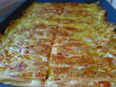 Greek Recipes, Food Network Recipes, Quiche, Food And Drink, Pizza, Yummy Food, Cooking, Breakfast, Cheese