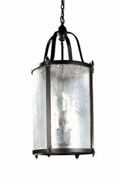 Old World Charm 9 Light Hanging Lantern by World Imports. $538.20. WI166189 Features: -Nine light indoor/outdoor hanging lantern.-Clear seedy glass diffuser.-Comes with 10' of chain and 12' of wire. Color/Finish: -Bronze finish. Specifications: -Uses nine 60W candelabra base incandescent bulbs - not included. Dimensions: -Canopy dimensions: 5''Dia.-Overall dimensions: 44''H x 21''Dia. Collection: -Old World Charm Collection.