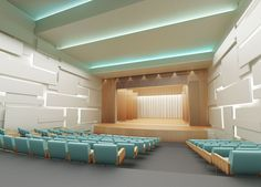 Theater Interior Design By Bulataya