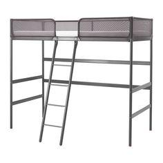 TUFFING Structure lit mezzanine IKEA Une solution idéale si l' Cama Ikea, Bed Ikea, Ikea Bedroom, Gray Bedroom, Master Bedroom, Stuva Loft Bed, Kura Bed, Ikea Stuva, Loft Bed Frame