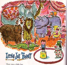 Little Joe Tunney - Vintage Illustration from Childcraft: The How & Why Library
