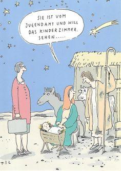 JUGENDAMT - Postkarte zu Weihnachten
