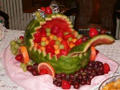 Watermelon Baby Buggy