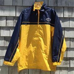 Classic Cape Cod Nautical Jacket | Anchor rainbreaker