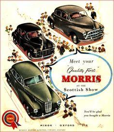 Best Hybrid Cars, Morris Oxford, Mini Morris, Ad Car, Morris Minor, Car Accessories For Girls, Bugatti Cars, Car Posters, Car Advertising
