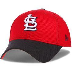 St. Louis Cardinals New Era Fundamental Tech Diamond Era 9FORTY Adjustable Hat - Red/Navy