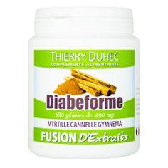 Fusion d'Extraits® Diabeforme - Thierry Duhec La boutique de Compléments Alimentaires