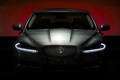 2012 Jaguar XF front black
