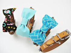 Bobbie dog bow tie XXS XS S M L Dog Bow tie Dog wedding