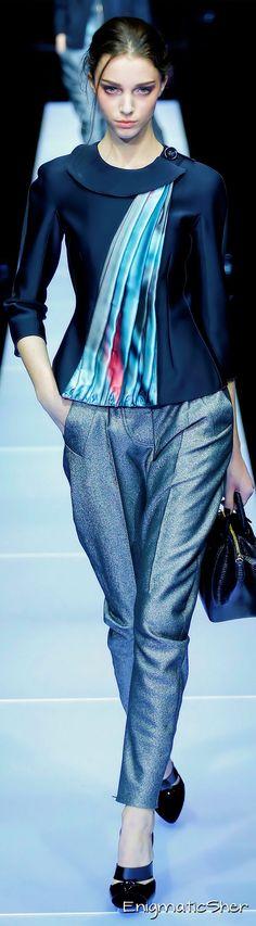 GIORGIO ARMANI Winter 2016 Ready-To-Wear