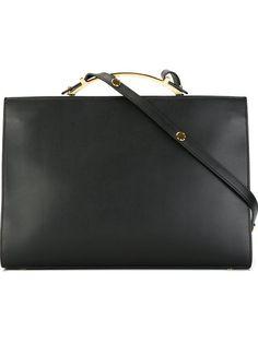 MARNI 'Sculpture' Shoulder Bag. #marni #bags #shoulder bags #hand bags #leather