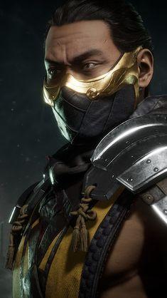 Mortal Kombat X Scorpion, Mortal Kombat Art, Liu Kang And Kitana, Mortal Kombat Video Game, Scorpio Season, Modelos 3d, Gurren Lagann, Fighting Games, Samurai