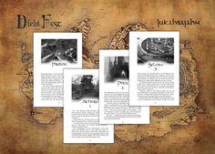 """Ab diesem Jahr gibt es die Print-Version bei DichtFest. Und die neuen Kapitelillustrationen für """"Geheime Wege"""" von Sören Meding sind einfach wunderbar geworden. :-) Event Ticket, Illustration, Polaroid Film, Simple, Pocket Books, Pictures, Illustrations"""